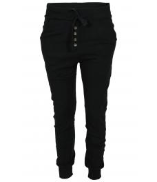 Панталон от трико 2018 черен