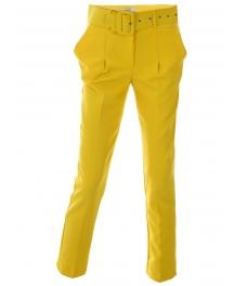 Дамски панталон ЛЕЙДИС жълт