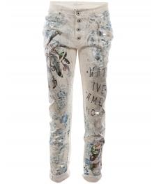 Дамски панталон ФРЕШ А-1 бял