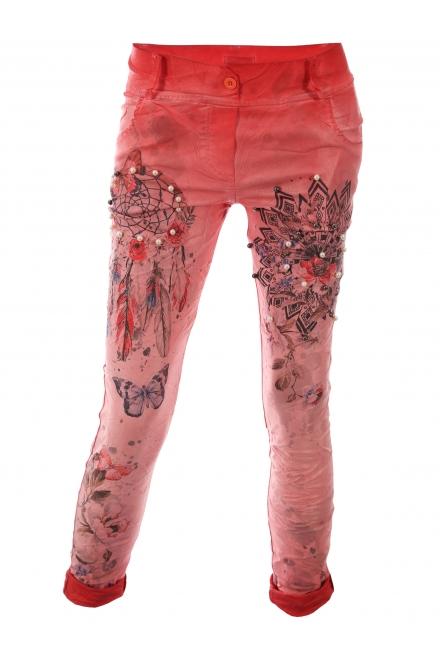 Дамски панталон ФРЕШ А-3 корал