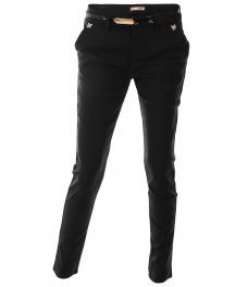 Дамски панталон 5679 черен