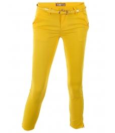 Дамски панталон DM6823 жълт