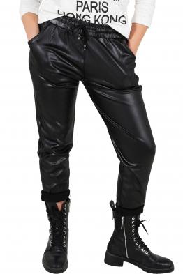 Дамски панталон с кожен ефект VN 210