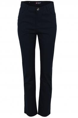 Дамски панталон S0 9917 тъмно син