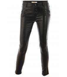 Дамски кожен панталон L-830