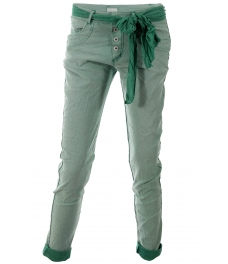 Дамски панталон МИЛАНО зелен