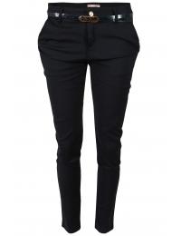 Дамски панталон 5991 тъмно син
