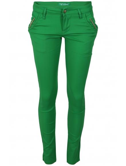 Дамски панталон DM2915 зелен