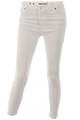 Дамски панталон RICH бял