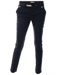 Дамски панталон 5679 тъмно син