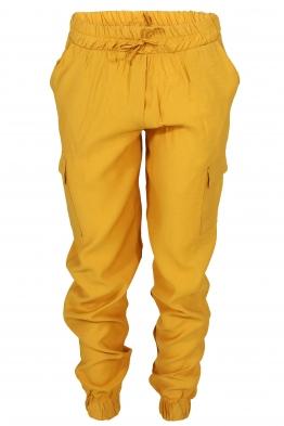Дамски карго панталон JESS жълт