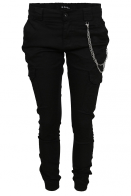 Дамски карго панталон DM 9679 черен