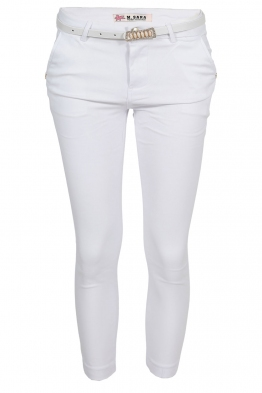 Дамски панталон DM 8939-13 бял