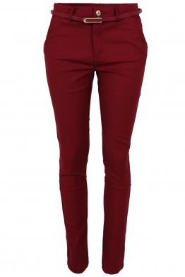 Дамски панталон MF 5675-82 бордо