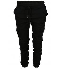 Дамски карго панталон Денвър черен