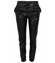 Дамски кожен панталон DM 9518