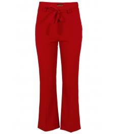 Дамски панталон ЛА ДОННА червен