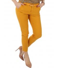 Дамски панталон 8973 горчица