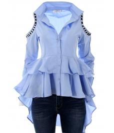 Риза Мадмоазел синя