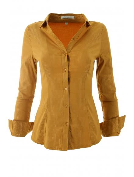 Дамска риза  0111 горчица