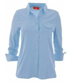 Дамска риза ЕЛЕНА синя