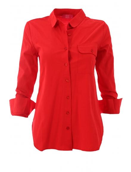 Дамска риза ЕЛЕНА червена