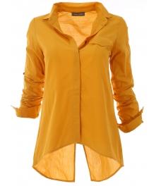 Дамска риза 1697 жълта