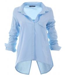 Дамска риза 1697 синя