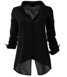 Дамска риза 1697 черна