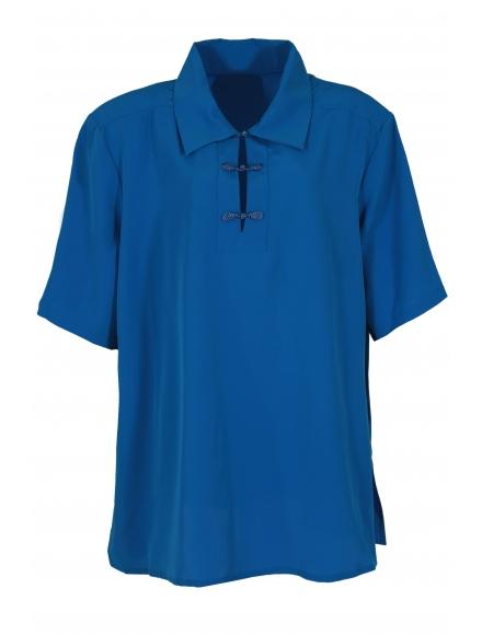 Дамска риза КАЯ синя