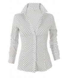 Дамска риза на точки Мей Би