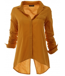 Дамска риза 1697 горчица
