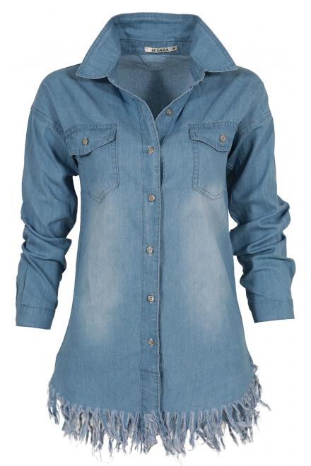 Дамска дънкова риза 1100