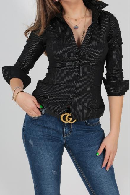 Дамска риза  0111 черна