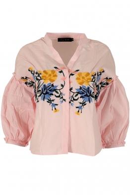 Дамска риза А-16 розова
