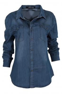 Дамска дънкова риза G 1603