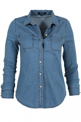 Дамска дънкова риза TY 9314