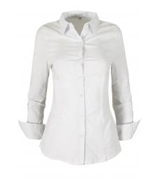 Дамска риза  0181 бяла