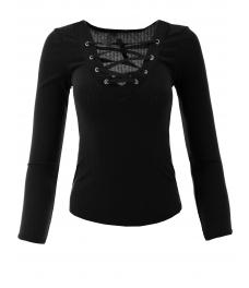 Дамска блуза МОНДЕО черна