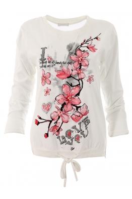 Дамска блуза FANCY бял