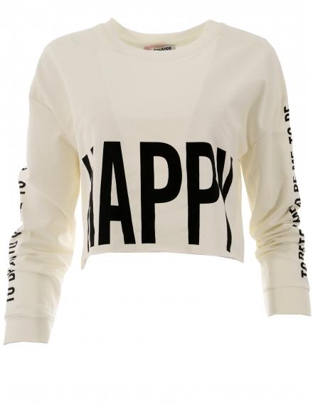 Дамска блуза HAPPY бяла