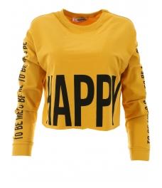 Дамска блуза HAPPY жълта