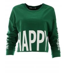 Дамска блуза HAPPY зелена