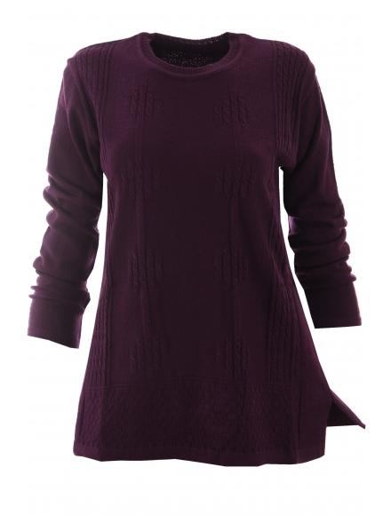 Дамска блуза АМАНДА А-2 патладжан