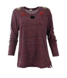 Дамска блуза АСМИНА лилава