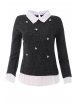Дамска блуза Верде А-3 графит