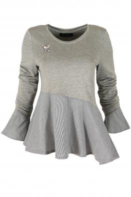 Дамска блуза НАНСИ сива