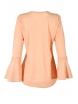 Дамска блуза с дълъг ръкав ЛИЛИАН ябълков цвят