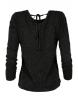 Дамска блуза XX392 черна