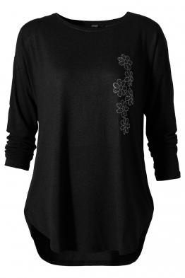 Дамска блуза ESMIRA черна